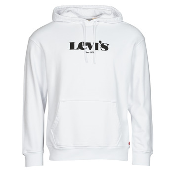 textil Herre Sweatshirts Levi's T2 RELAXED GRAPHIC PO Hvid