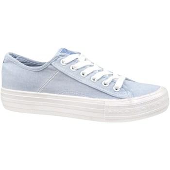 Sko Dame Lave sneakers Lee Cooper Lcw 21 31 0123L Azurblå