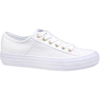 Sko Dame Lave sneakers Lee Cooper Lcw 21 31 0121L Hvid