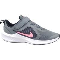 Sko Pige Løbesko Nike Downshifter 10 Grå