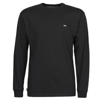 textil Herre Langærmede T-shirts Vans OFF THE WALL CLASSIC LS Sort