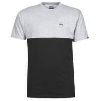 textil Herre T-shirts m. korte ærmer Vans COLORBLOCK TEE Grå / Sort