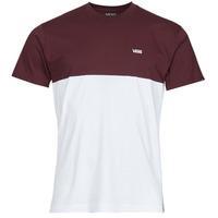 textil Herre T-shirts m. korte ærmer Vans COLORBLOCK TEE Hvid