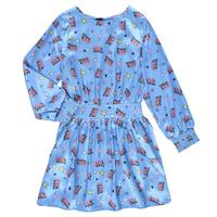 textil Pige Korte kjoler Billieblush STIKA Blå