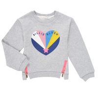 textil Pige Sweatshirts Billieblush MARIELA Grå