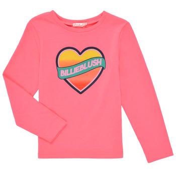 textil Pige Langærmede T-shirts Billieblush DEKOU Pink