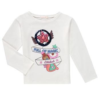 textil Pige Langærmede T-shirts Billieblush FADILA Hvid