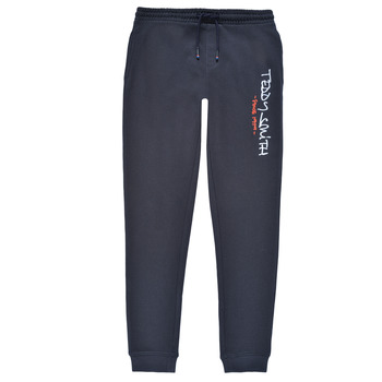 textil Dreng Træningsbukser Teddy Smith P-JOG 2 Marineblå