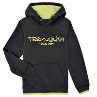 textil Dreng Sweatshirts Teddy Smith SICLASS HOODY Sort
