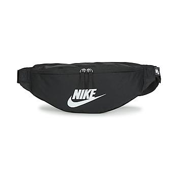 Tasker Bæltetasker Nike NK HERITAGE WAISTPACK - FA22 Sort / Hvid
