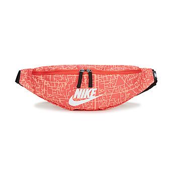 Tasker Dame Bæltetasker Nike NK HERITAGE WSTPCK FA21 AOP2 Pink / Sort / Hvid