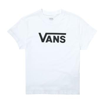 textil Pige T-shirts m. korte ærmer Vans FLYING V SS Hvid
