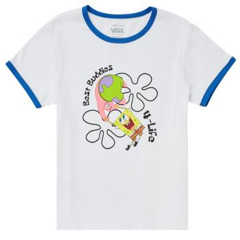 T-shirts m. korte ærmer Vans  VANS X SPONGEBOB BEST BUDDIES RINGER