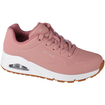 Sko Dame Lave sneakers Skechers Uno-Stand on Air Pink