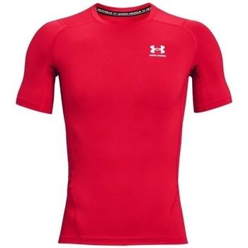 textil Herre T-shirts m. korte ærmer Under Armour Heatgear Armour Rød