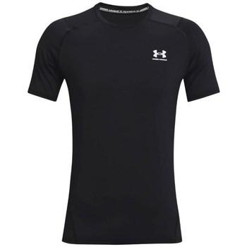textil Herre T-shirts m. korte ærmer Under Armour Heatgear Armour Fitted Sort