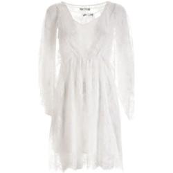 textil Dame Korte kjoler Fracomina F321SD2001W441G1 hvid