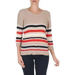 textil Dame Pullovere S.Oliver ZARA BEIGE / Blå / Hvid / Orange