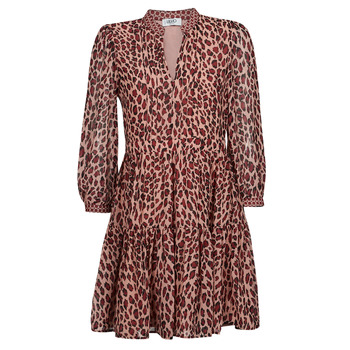 textil Dame Korte kjoler Liu Jo WF1019 Leopard