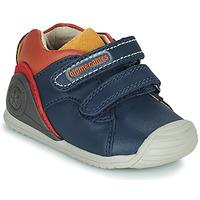 Sko Dreng Lave sneakers Biomecanics BIOGATEO CASUAL Marineblå