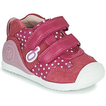 Sko Pige Lave sneakers Biomecanics BIOGATEO SPORT Pink