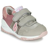 Sko Pige Lave sneakers Biomecanics BIOEVOLUTION SPORT Grå / Pink