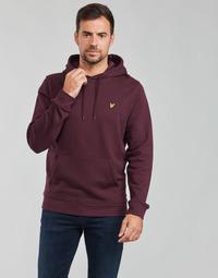 textil Herre Sweatshirts Lyle & Scott KOLAVE Bordeaux