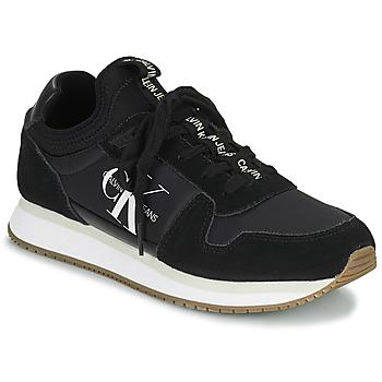 Sko Dame Lave sneakers Calvin Klein Jeans RUNNER LACEUP Sort
