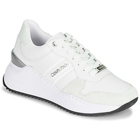 Sko Dame Lave sneakers Calvin Klein Jeans RYLIE LACE UP 3 Hvid