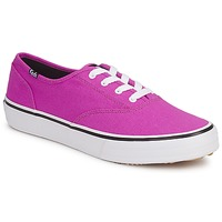 Sko Dame Lave sneakers Keds DOUBLE DUTCH SEASONAL SOLIDS Pink