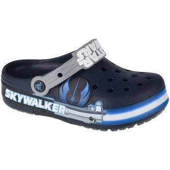 Sko Børn Vandsportssko Crocs Fun Lab Luke Skywalker Lights K Clog Flåde