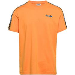 textil Herre T-shirts m. korte ærmer Diadora 502176085 Orange