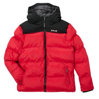 textil Børn Dynejakker Schott UTAH 2 Rød
