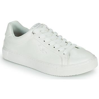 Sko Dame Lave sneakers Pepe jeans ADAMS COLLINS Hvid