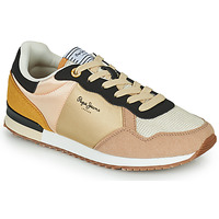 Sko Dame Lave sneakers Pepe jeans ARCHIE LIGHT Beige