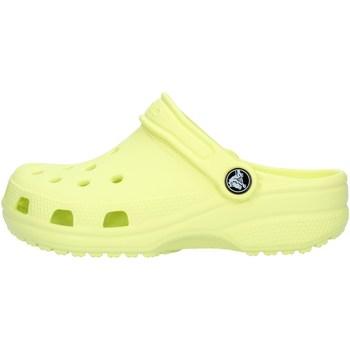 Sko Dreng Træsko Crocs 204536 Lime green