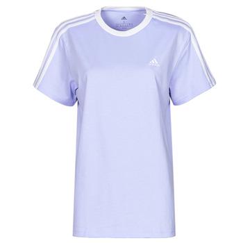textil Dame T-shirts m. korte ærmer adidas Performance WESBEF Violet