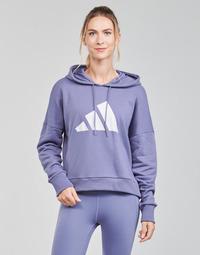 textil Dame Sweatshirts adidas Performance WIFIEB HOODIE Violet