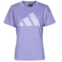 textil Dame T-shirts m. korte ærmer adidas Performance WEWINTEE Violet / Mel