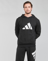 textil Herre Sweatshirts adidas Performance M FI 3B HOODIE Sort