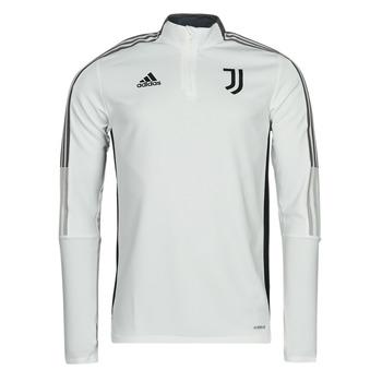 textil Sportsjakker adidas Performance JUVE TR TOP Hvid / Essentiel