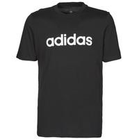 textil Herre T-shirts m. korte ærmer adidas Performance M LIN SJ T Sort
