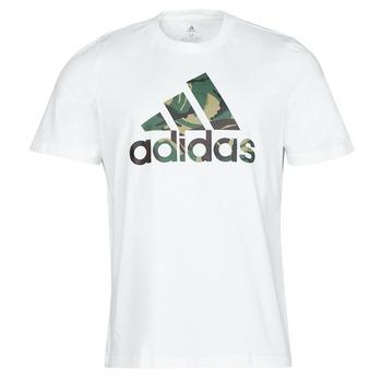 textil Herre T-shirts m. korte ærmer adidas Performance M CAMO T Hvid