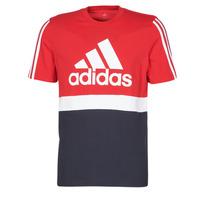textil Herre T-shirts m. korte ærmer adidas Performance M CB T Rød