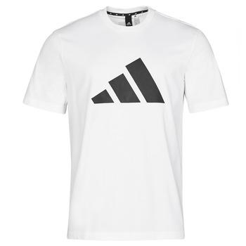 textil Herre T-shirts m. korte ærmer adidas Performance M FI 3B TEE Hvid