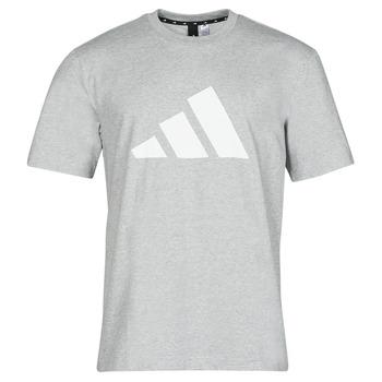 textil Herre T-shirts m. korte ærmer adidas Performance M FI 3B TEE Lyng / Grå / Medium