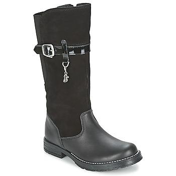 Sko Pige Chikke støvler Start Rite AQUA-FELINE Sort