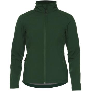 textil Dame Jakker Gildan SS800L Forest Green