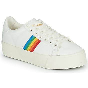 Sko Dame Lave sneakers Gola ORCHID PLATFORM RAINBOW Hvid / Flerfarvet