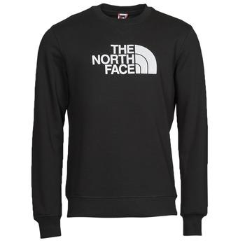 textil Herre Sweatshirts The North Face DREW PEAK CREW Sort / Hvid